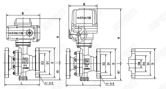 防爆电动调节球阀是由防爆角行程电动执行器和球阀组成,电动执行器内置伺服系统,无须另配伺服放大器,默认防爆等级ExdII BT4(其他防爆等级可选),输入4-20mA信号或者0-10V及220VAC电源即可控制运转。防爆电动调节球阀具有连线简单,结构紧凑、尺寸小、重量轻、阻力小、动作稳定可靠等优点。防爆电动调节球阀通常用于密封要求严格的场合,除控制气体、液体、蒸汽介质外,还适宜控制污水和含有纤维性杂质的介质,广泛用于石油、化工、冶金、轻工、造纸、电站、制冷等工作领域。防爆电动调节球阀有标准型、高温型、耐腐蚀
