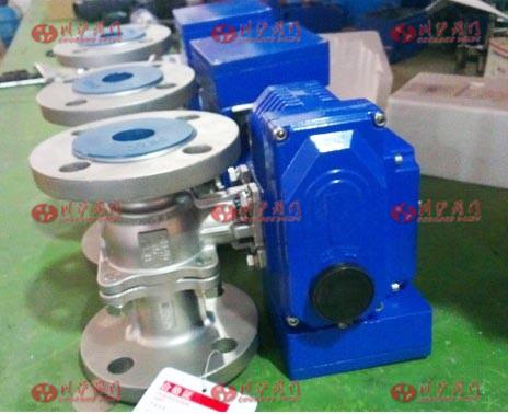 电动调节球阀接线图和调整方法 上海川沪阀门有限公司